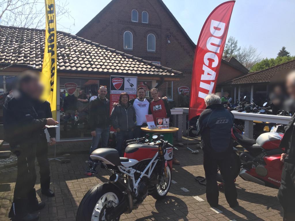 Ducati Saisoneröffnung