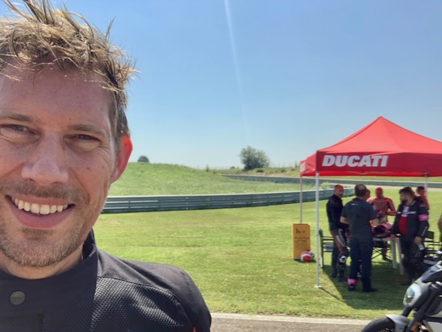 DRE (Ducati Riding Experience) Road Training in Modena, Italien, by ROEL