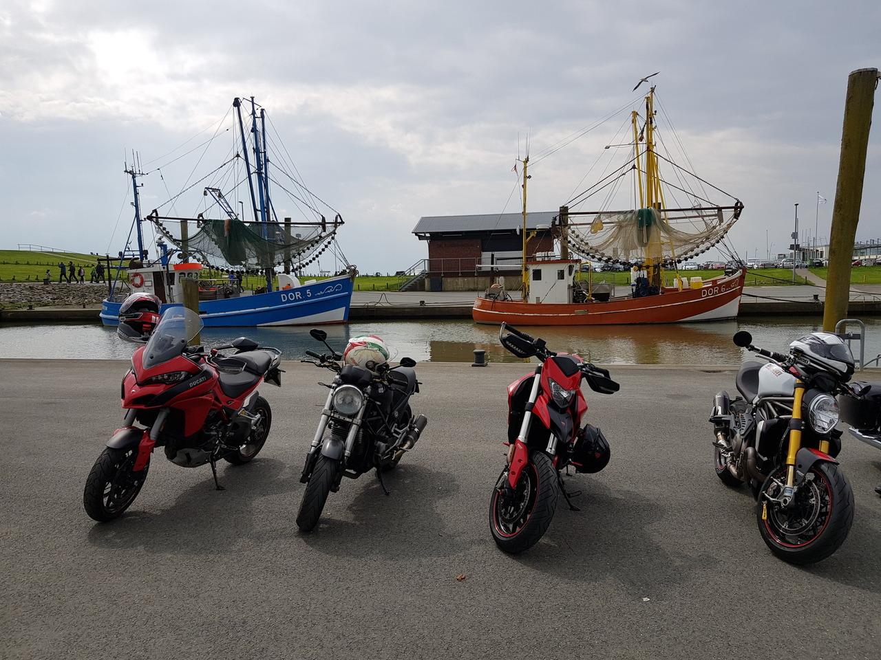 Carstens Krabbenkutter Tour nach Dorum
